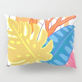 Leaves and corals Pillow Sham