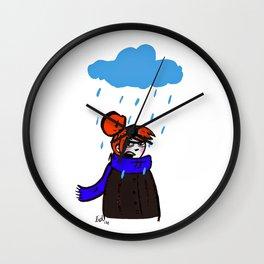 La vie à Lille Wall Clock