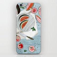 The Watermelon Season iPhone Skin