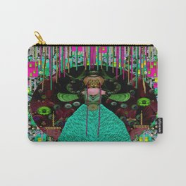 Lady Pandas Comfort Zone in Zen Carry-All Pouch