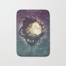 Clockwork Moon Bath Mat