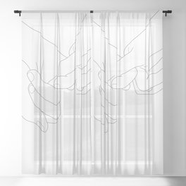 Pinky Promise Sheer Curtain