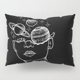 Univers around my head Pillow Sham