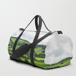 The green of nature Duffle Bag
