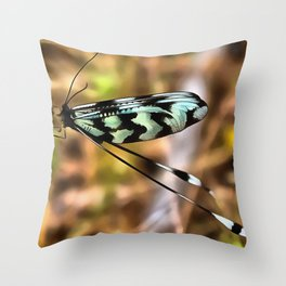 Lacewing Throw Pillow