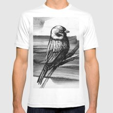 Sparrow Mens Fitted Tee MEDIUM White