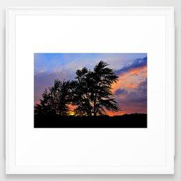 Before Sunset Framed Art Print