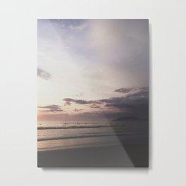 Pastel + Surf (Tamarindo, Costa Rica) Metal Print