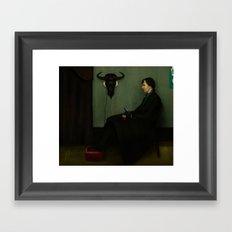 Whistler's Sherlock Framed Art Print