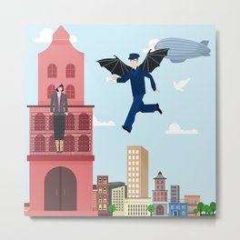 air mail Metal Print