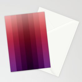 Steps 1--Red Ombre Stationery Cards