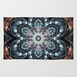 Mandalas from the Voice of Eternity 4 Rug