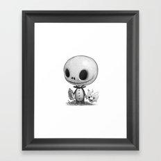 Lil Jack Skellington Framed Art Print