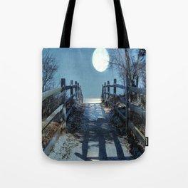 Under The Moonbeams Tote Bag