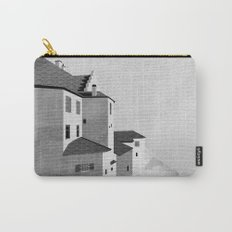 Castle in the Sky | Black & White Carry-All Pouch