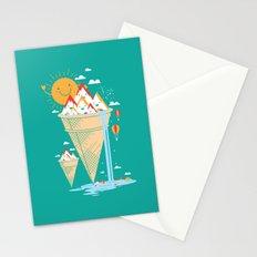mystery island Stationery Cards