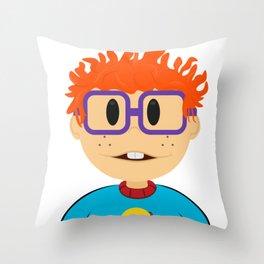 Carlitos Baldosa - Rugrats Throw Pillow