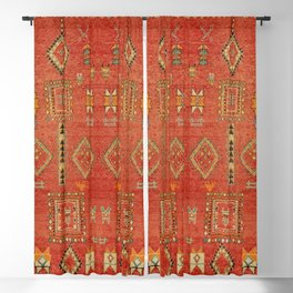 Moroccan Traditional Heritage Design Berber Style E5 Blackout Curtain