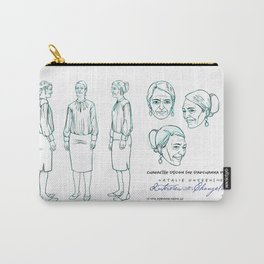 Darshanna Penna Character Design I Carry-All Pouch