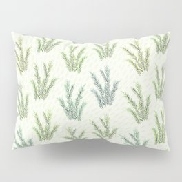 Wild Greenery Pattern II Pillow Sham