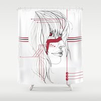 tribal Shower Curtains featuring TRIBAL by ARCHIGRAF