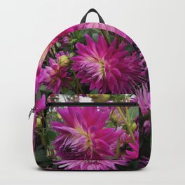 Pretty in Pink Dahlia 2 Backpack