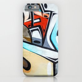 Wall Graffiti iPhone Case