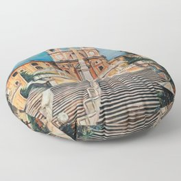 Piazza Spagna Floor Pillow