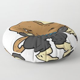 Lose Weight Diet Gift Spruch Funny Animal Floor Pillow
