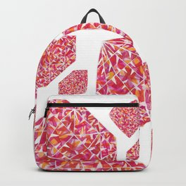 Pink Diamond Pattern 2 Backpack