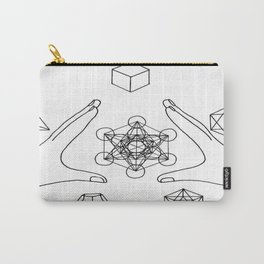 sacred shapes  Carry-All Pouch