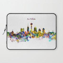 San Antonio Skyline Silhouette Laptop Sleeve