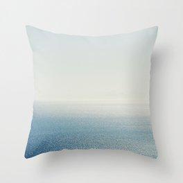 Ocean Horizon Diamonds Throw Pillow