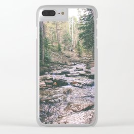 Just Around the Riverbend Clear iPhone Case