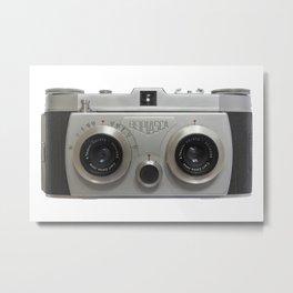 Belplasca Stereo Camera Metal Print
