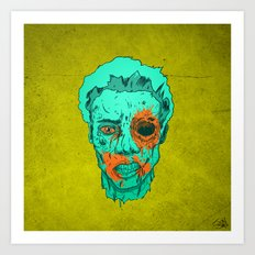 Zombie Thump! Art Print