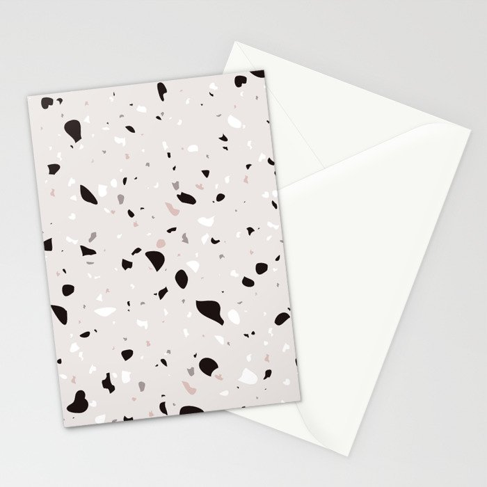 Natural Terrazzo Stationery Cards