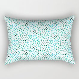 Abstract brush strokes pattern Rectangular Pillow