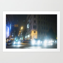 Roman's light Art Print