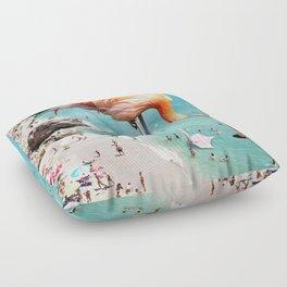 Flamingos on the Beach #society6 #decor #buyart Floor Pillow