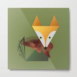 Animaligon - Fox Metal Print