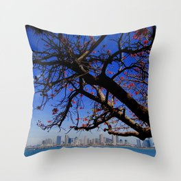 San Diego ~ Skyline Throw Pillow