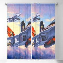 FA18 Hornet Blackout Curtain