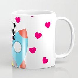 Rocketpanda in Love Coffee Mug