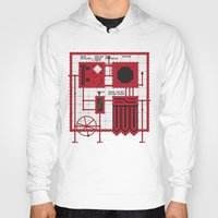 rocky horror Hoodies featuring Rocky Horror Control Panel by Shawn Hall Design