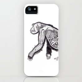 The Anatomy of a Pregnant Gorilla iPhone Case