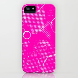 Texture #26 in Hot Pink iPhone Case