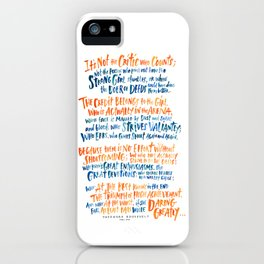The Girl in the Arena iPhone Case