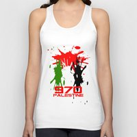 palestine Tank Tops featuring Palestine Code by Maxvtis