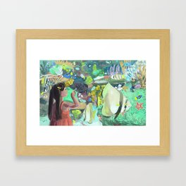 Wonders of the Aquarium Framed Art Print